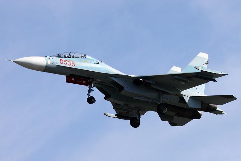 Истребитель Су-30МК2 ВВС Вьетнама. Источник: militaryphotos.net.