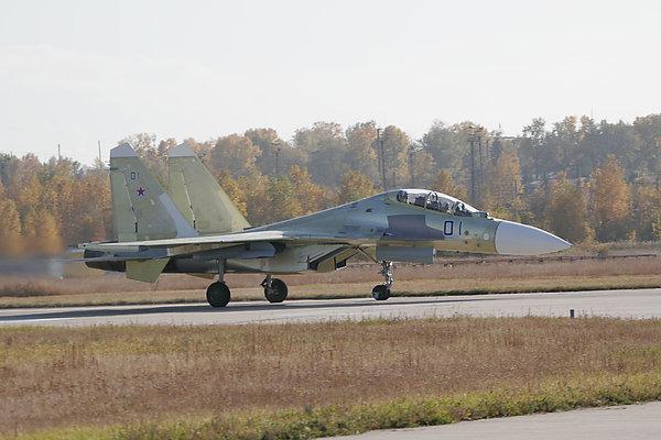 """Су-30СМ. Фото пресс-службы корпорации """"Иркут"""""""