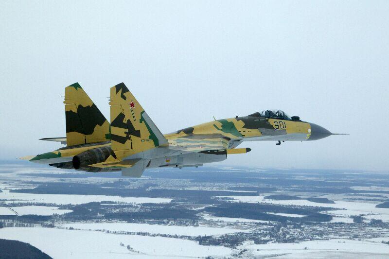 Истребитель Су-35. Фото: news4k.com.