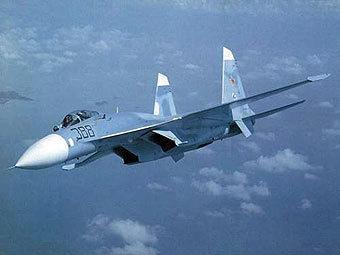 """Су-27. Фото пресс-службы компании """"Сухой""""."""