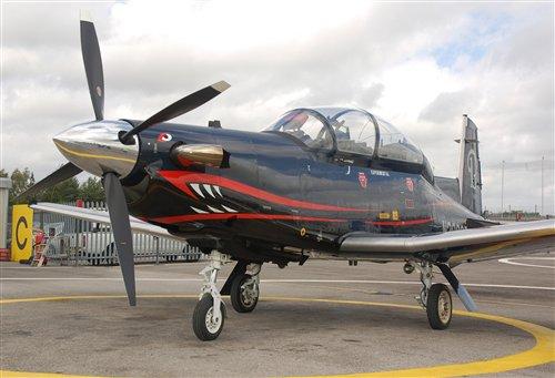 Учебно-тренировочный самолет Т-6C.