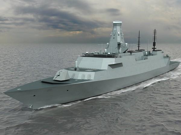 Проект многоцелевого боевого корабля Тип 26 (T26 GCS). Источник: www.asdnews.com.