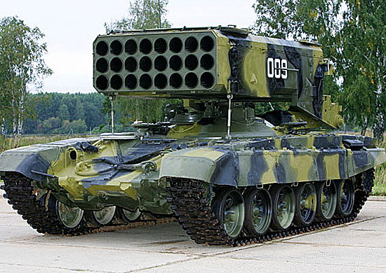 ТОС-1А Солнцепёк (тяжёлая огнемётная система)