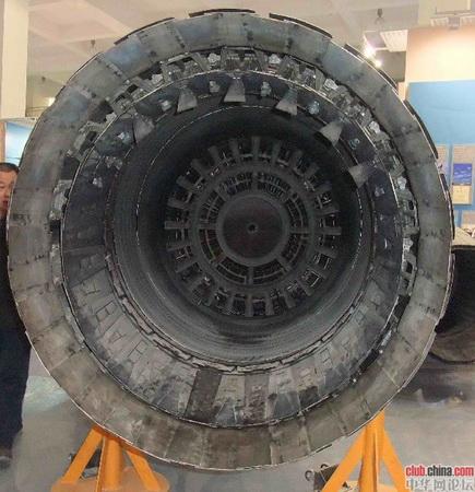 Китайский авиадвигатель Taihang.