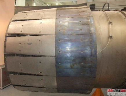 Турбовентиляторный авиационный двигатель типа WS-10 Taihang.