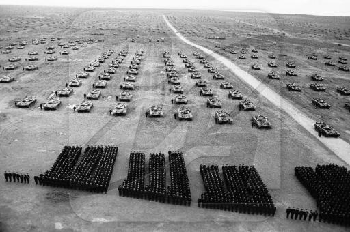 Фото с учений Советской Армии и стран Варшавского Договора «Запад-81».