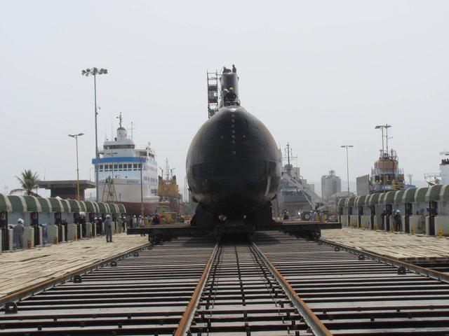 Подводная лодка ARC Tayrona, модернизированная колумбийской компанией Cotecmar. Источник: www.elsnorkel.com.