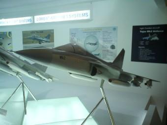 Модель Tejas Mk.2. Фото с сайта livefist.blogspot.com