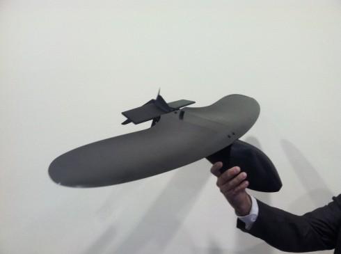 Малогабаритный БЛА BattleHawk. Источник: defensetech.org.