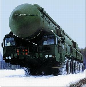 Ракетный комплекс «Тополь-М».