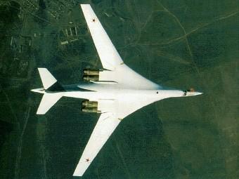 """Бомбардировщик Ту-160 """"Белый лебедь"""""""