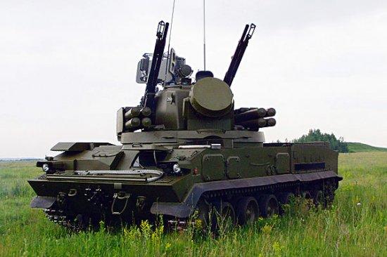 ЗПРК «Тунгуска-М1».