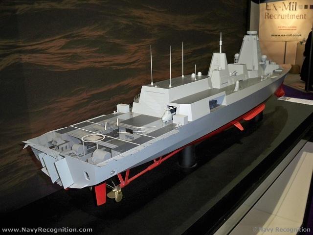 Фрегат Type 26 компании BAE Systems – Global Combat Ship. Источник: www.navyrecognition.com.