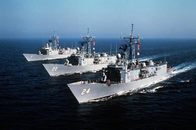 USS Oliver Hazard Perry FFG-7. Источник: maritimequest.com.