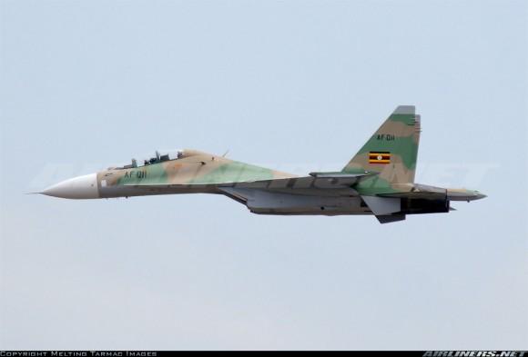Су-30МК2 ВВС Уганды.