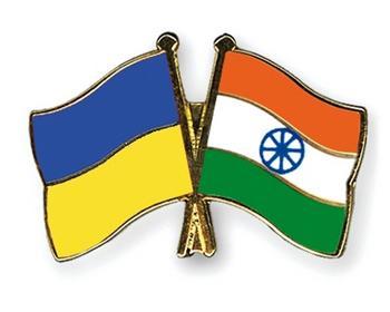 Ukrain_India_flags