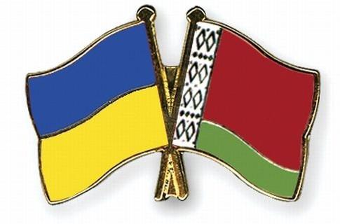 Ukraine-Belarus_flags