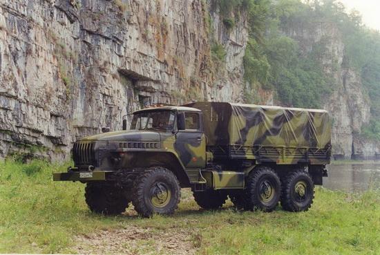 Полноприводный Урал 4320-31.