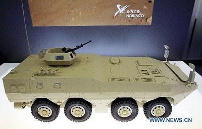 Модель БТР VN1 с колесной формулой 8х8.