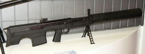 Бесшумная снайперская винтовка ВССК «Выхлоп». Источник: www.altair.com.pl