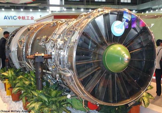 Китайский авиадвигатель WS-10B.