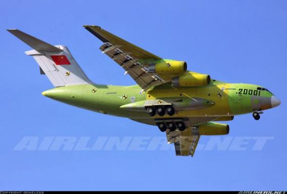 Y-20-Maiden-Flight
