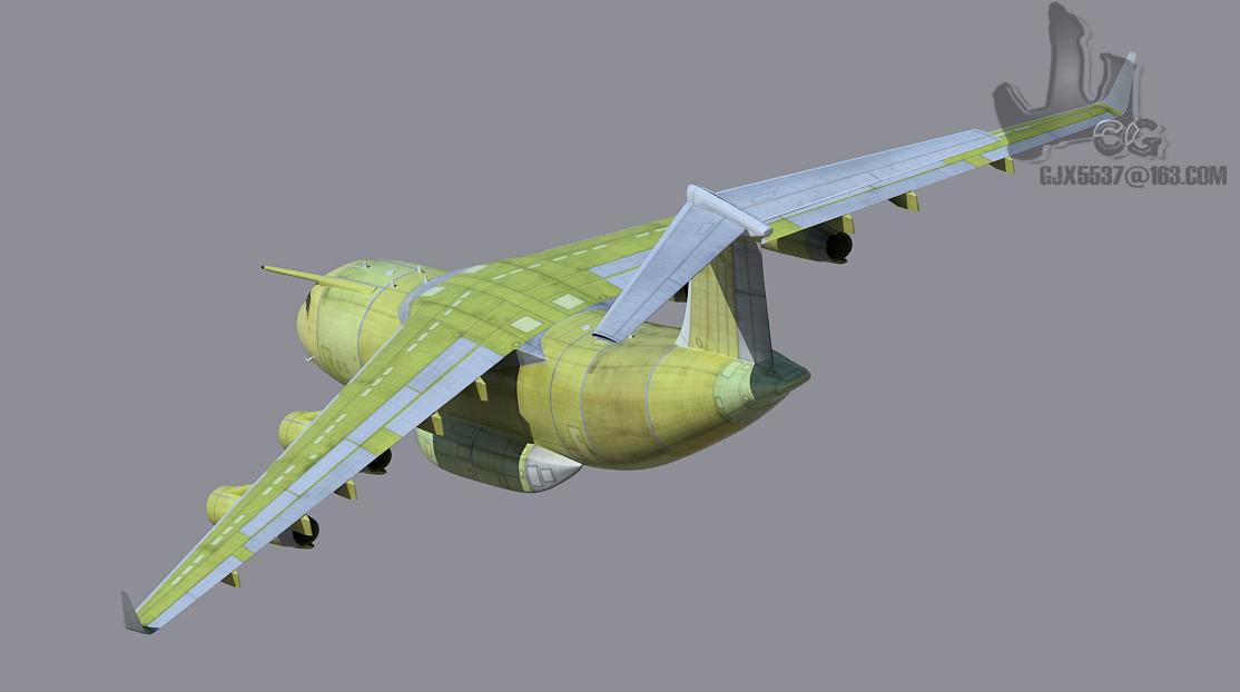 3D-модель самолёта Y-20 http://vpk.name/news/81833_kitai_oficialno_priznal_poyavlenie_transportnogo_samoleta_y20.html - Китай приступил ко второму этапу испытаний самолёта Y-20 | Военно-исторический портал Warspot.ru