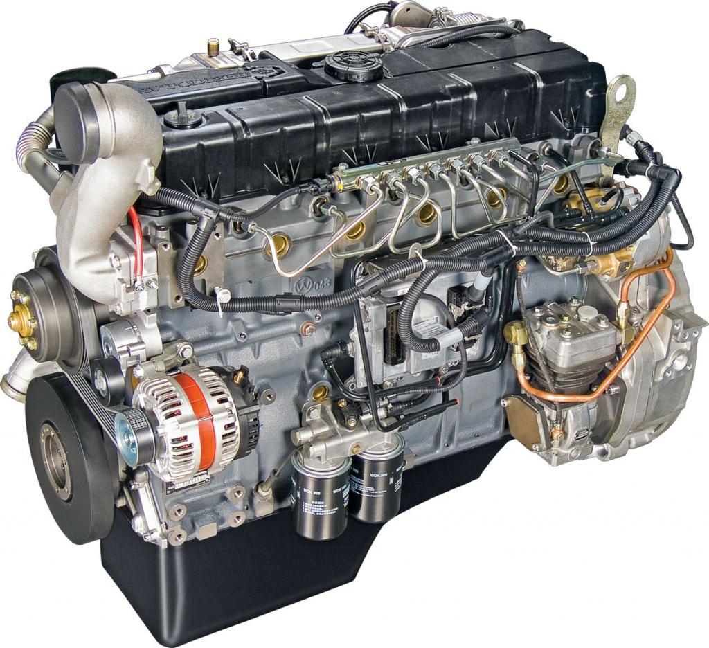 Автомобильный двигатель ЯМЗ-530. Источник: gk-dizel.ru.