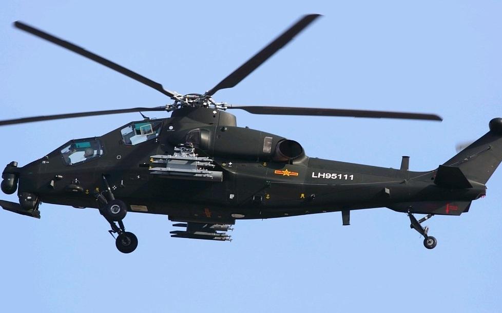 Китайский ударный вертолет Z-10 (бортовой номер LH95111). Источник: Global Military Review .