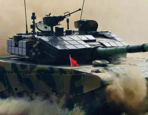Китайский основной боевой танк ZTZ99A2.