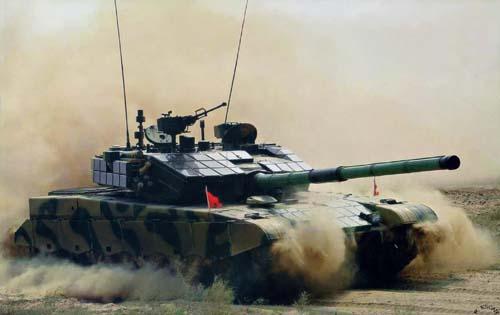 Китайский основной боевой танк ztz99a2