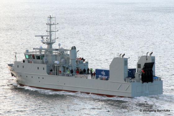 Торпедное судно А 61 Rmah