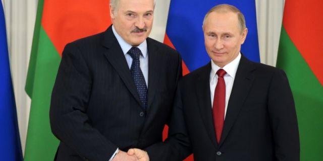 А. Лукашенко и В. Путин