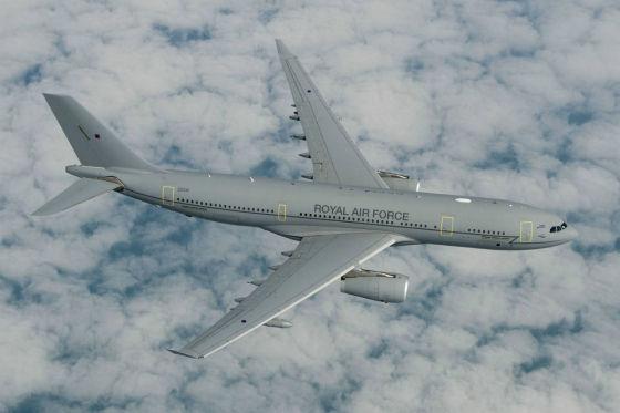 Самолет-заправщик Airbus А330 MRTT