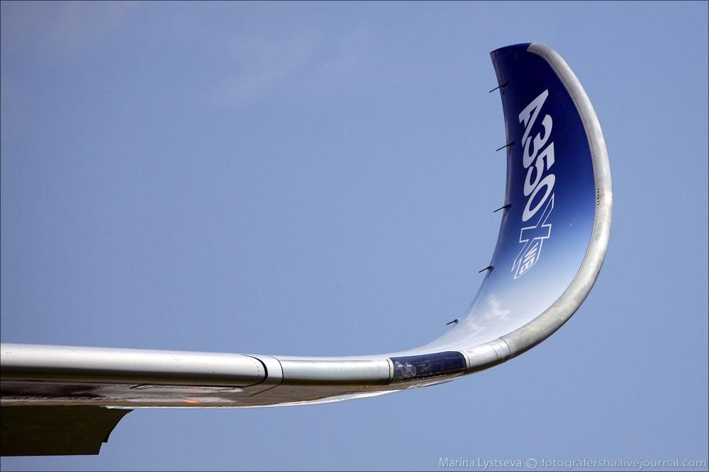 Законцовка крыла A350.