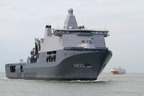 Корабль А 833 Karel Doorman