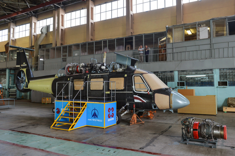 Производство Ка-62.