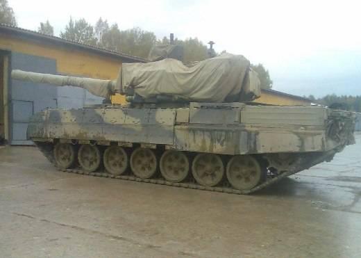 """Танк объект 195 """"Абрамскапут"""" (Т-95) со 152-мм орудием 2А83."""