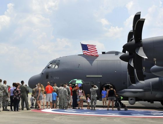 Самолет AC-130J Ghostrider