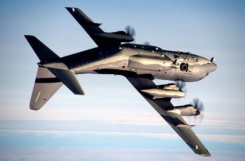 Самолёт AC-130J.