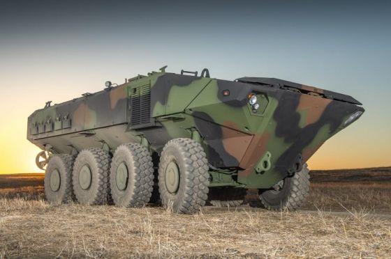 Прототип-демонстратор БТР BAE Systems ACV