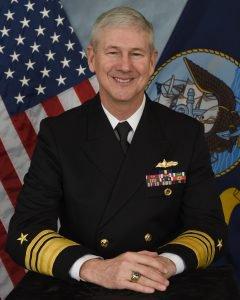 Вице-адмирал флота США Томас Мур.