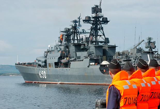 Большой противолодочный корабль «Адмирал Чабаненко».