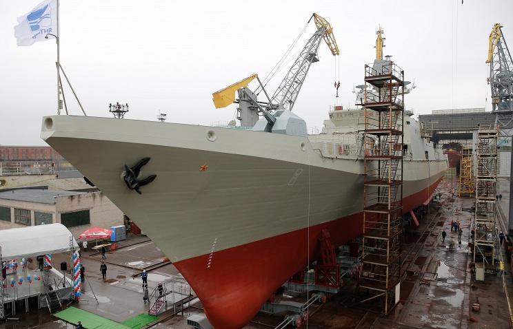 Постройка трех фрегатов для Черноморского флота отменена из-за отсутствия украинских двигателей