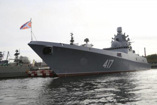 """Головной фрегат """"Адмирал Горшков"""""""
