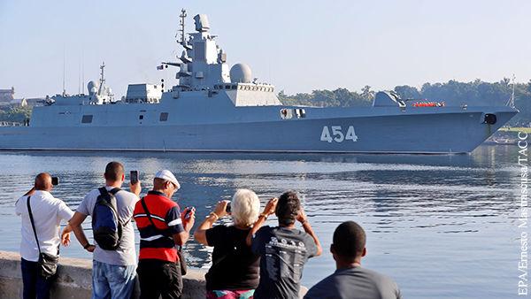 """""""Адмирал Горшков"""" смогли оценить в самых дальних уголках планеты"""