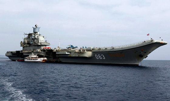 Авианосец «Адмирал флота Советского Союза Н.Г. Кузнецов»