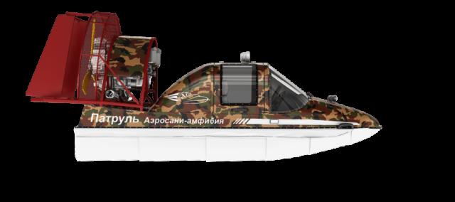Аэросани «Патруль АС 5,2»