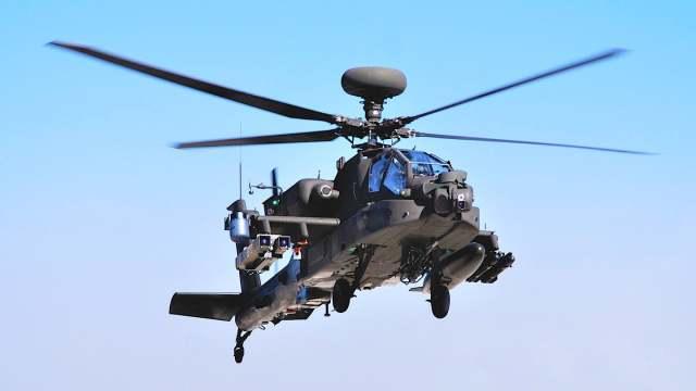 AH-64E со Spike NLOS
