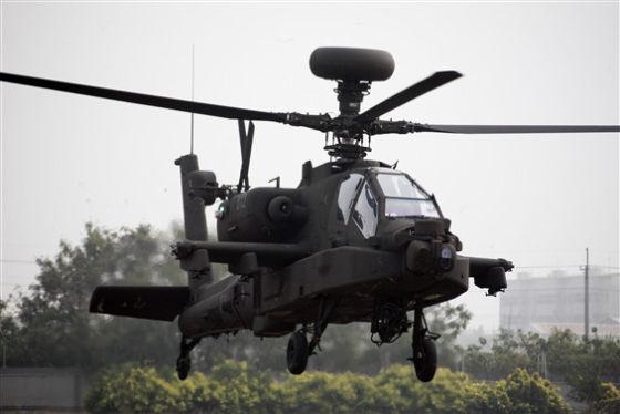 Вертолет Boeing AH-64E